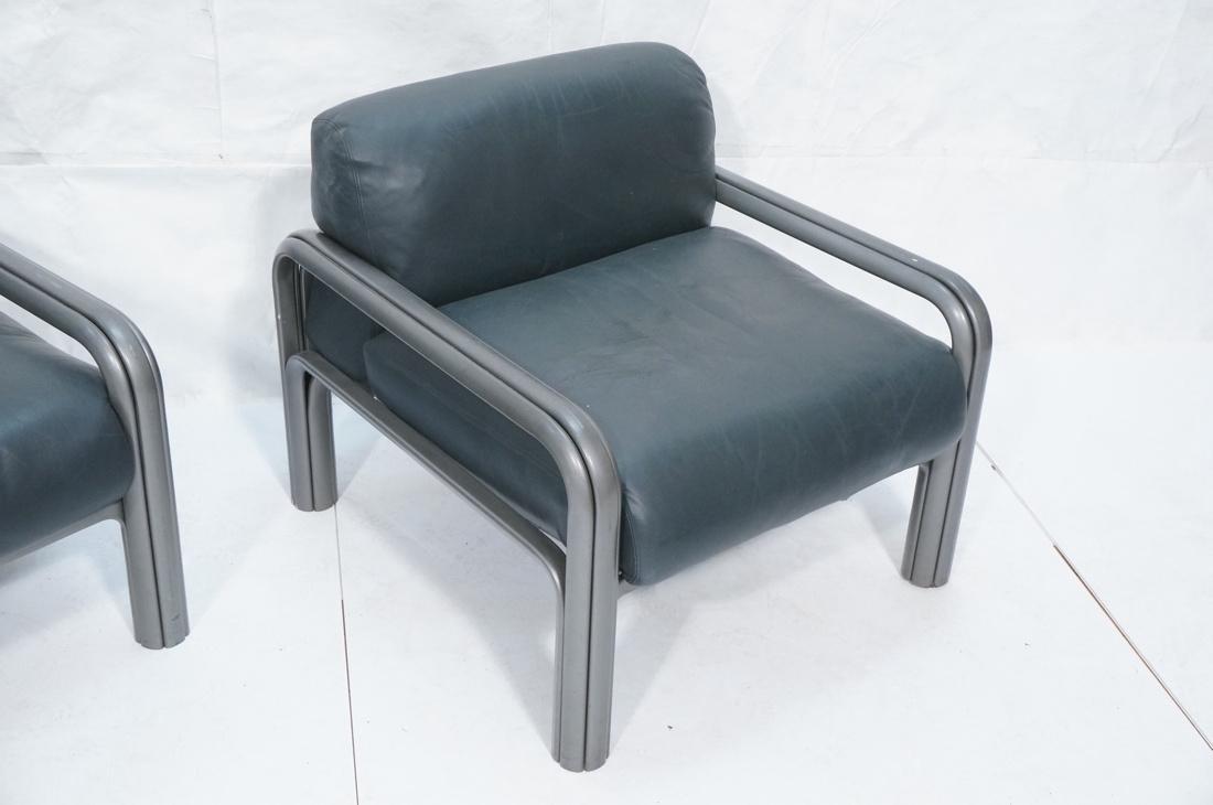 Pr KNOLL International GAE AULENTI Lounge Chairs. - 3