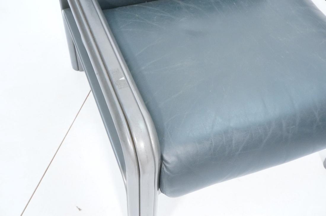 Pr KNOLL International GAE AULENTI Lounge Chairs. - 4