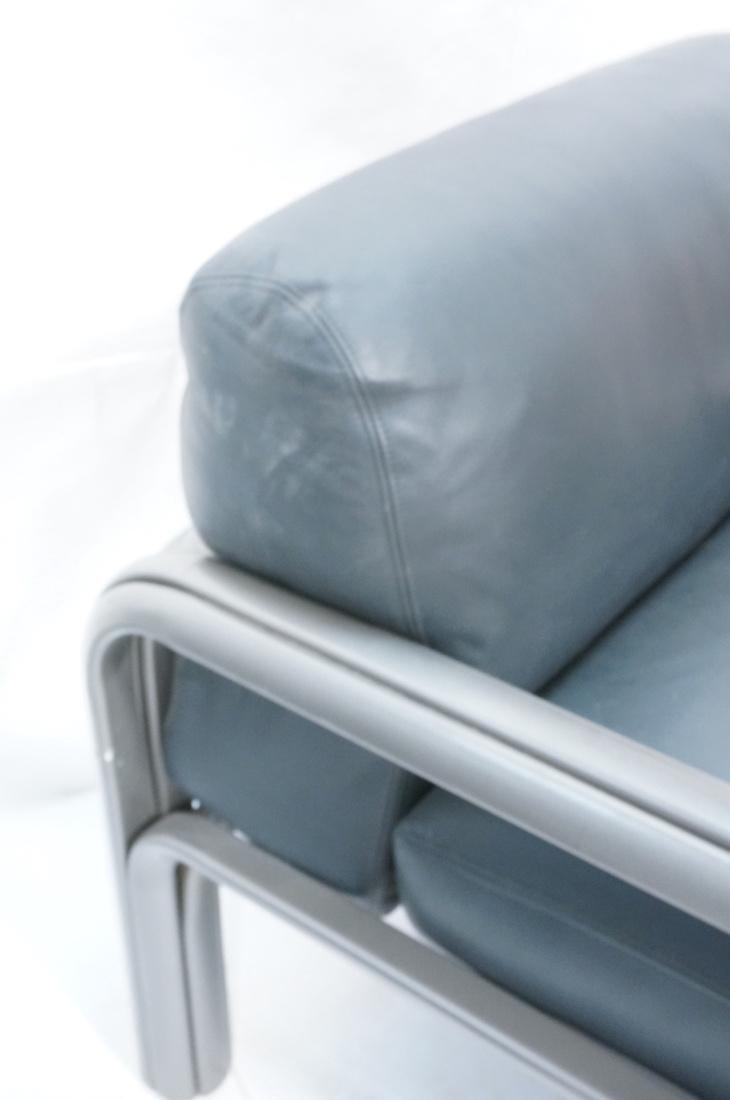 Pr KNOLL International GAE AULENTI Lounge Chairs. - 6