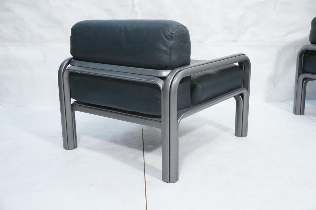 Pr KNOLL International GAE AULENTI Lounge Chairs. - 8
