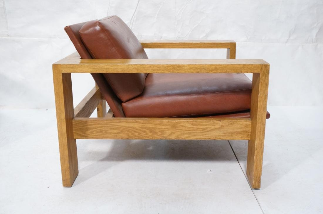 Mission Arts and Crafts Oak Lounge Chairs. Frankl style - 10