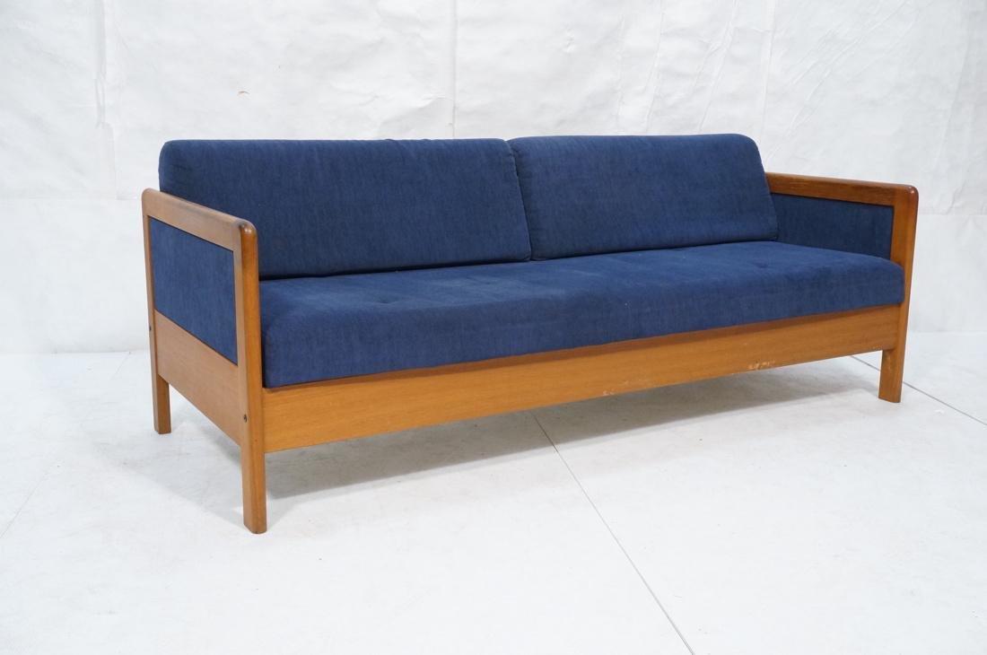 Danish Teak HESTBAEK Sleeper Sofa Couch. Danish t - 2