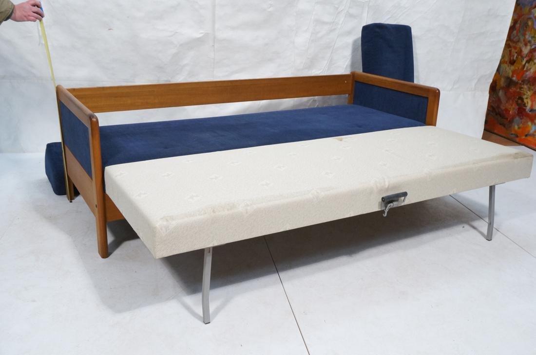 Danish Teak HESTBAEK Sleeper Sofa Couch. Danish t - 6