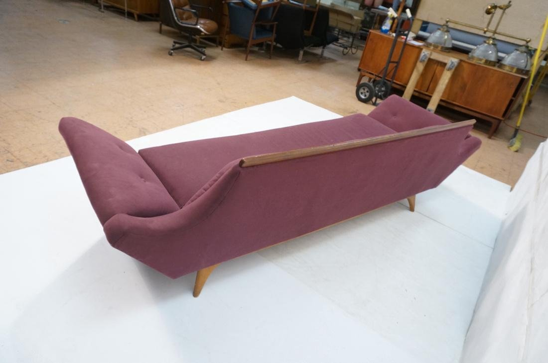 ADRIAN PEARSALL Modernist Walnut Sofa Couch. Styl - 7