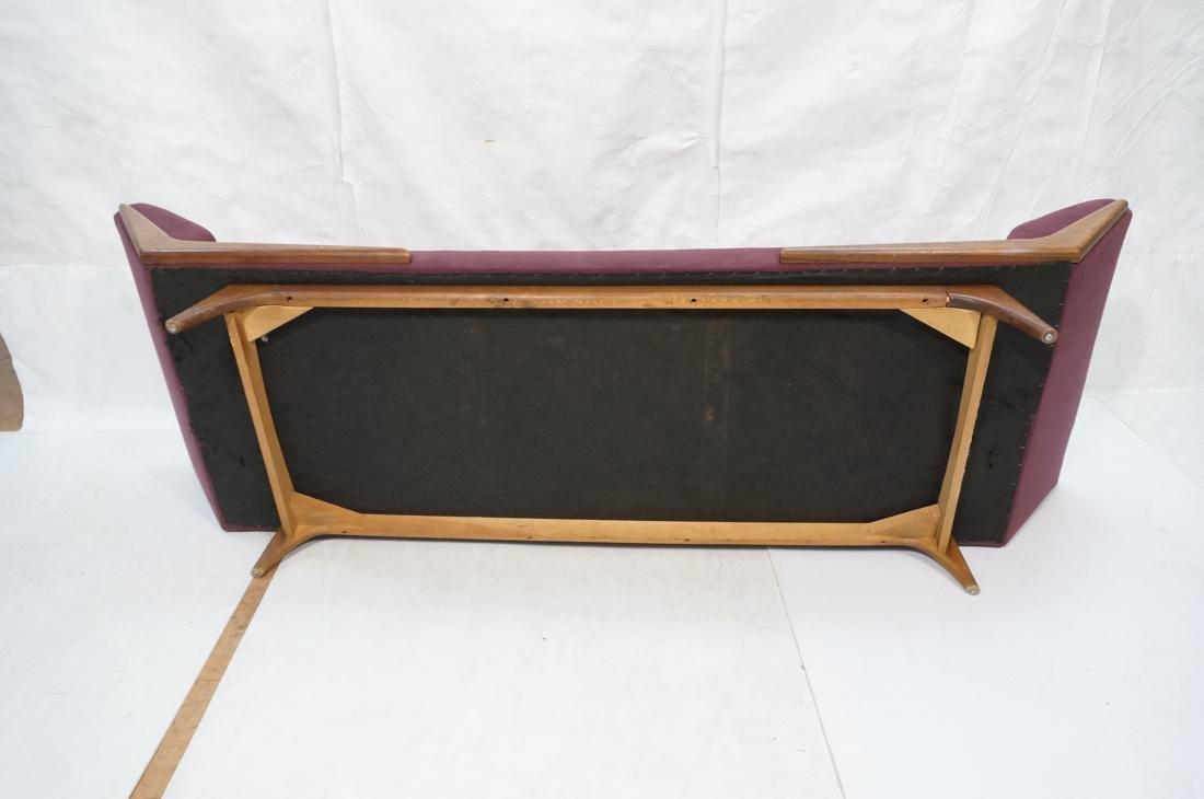 ADRIAN PEARSALL Modernist Walnut Sofa Couch. Styl - 9