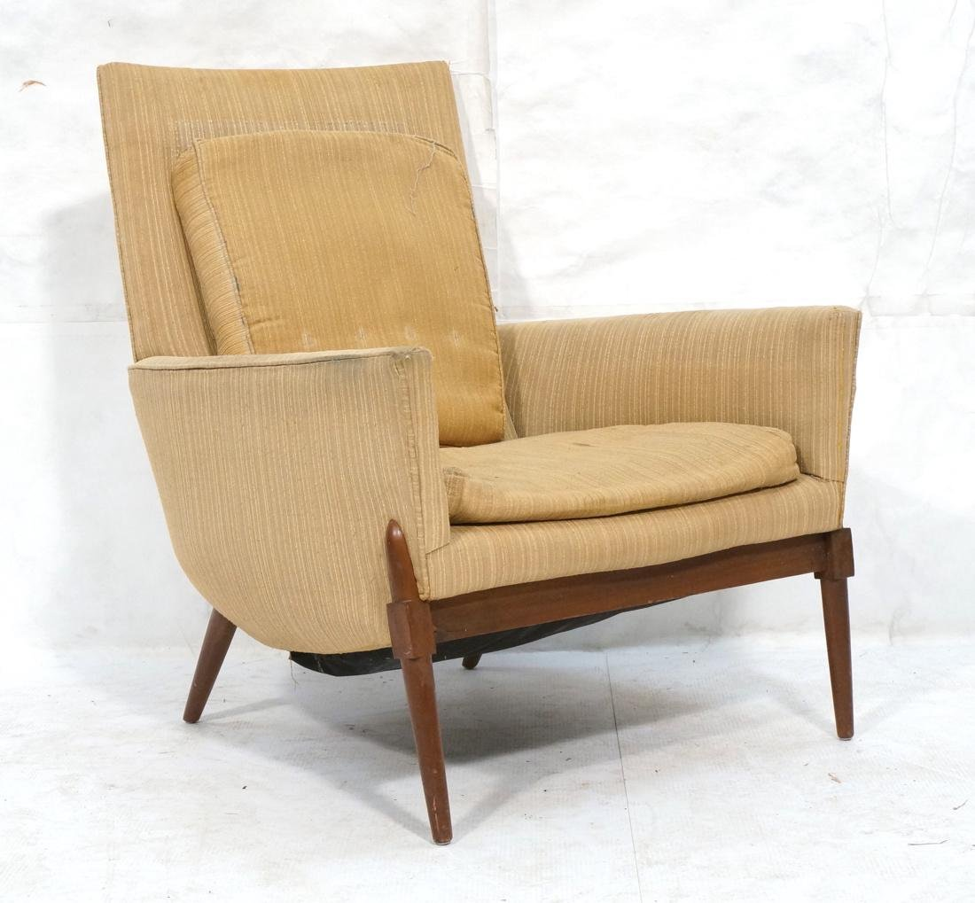 PAUL MCCOBB Style AMERICAN MODERN Walnut Lounge C