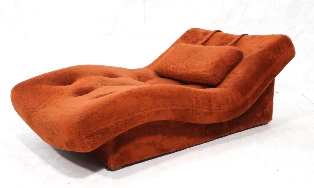 ADRIAN PEARSALL Style Wave Chaise Lounge. Complet