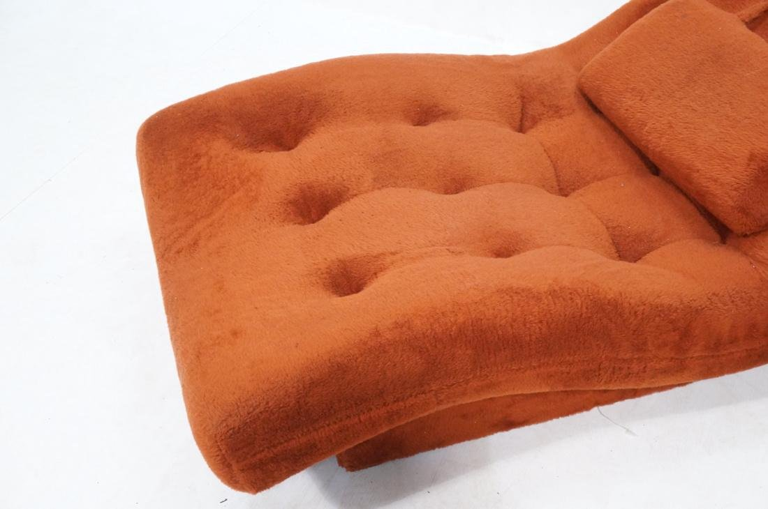 ADRIAN PEARSALL Style Wave Chaise Lounge. Complet - 3