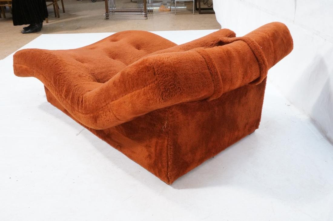 ADRIAN PEARSALL Style Wave Chaise Lounge. Complet - 6