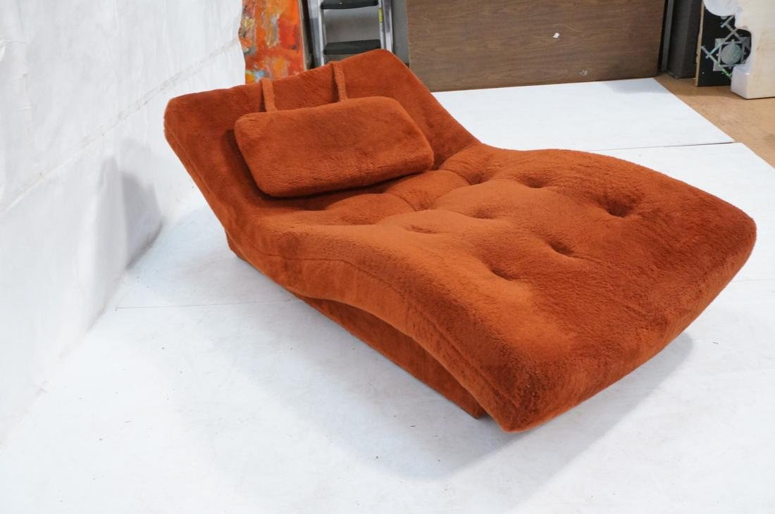 ADRIAN PEARSALL Style Wave Chaise Lounge. Complet - 8