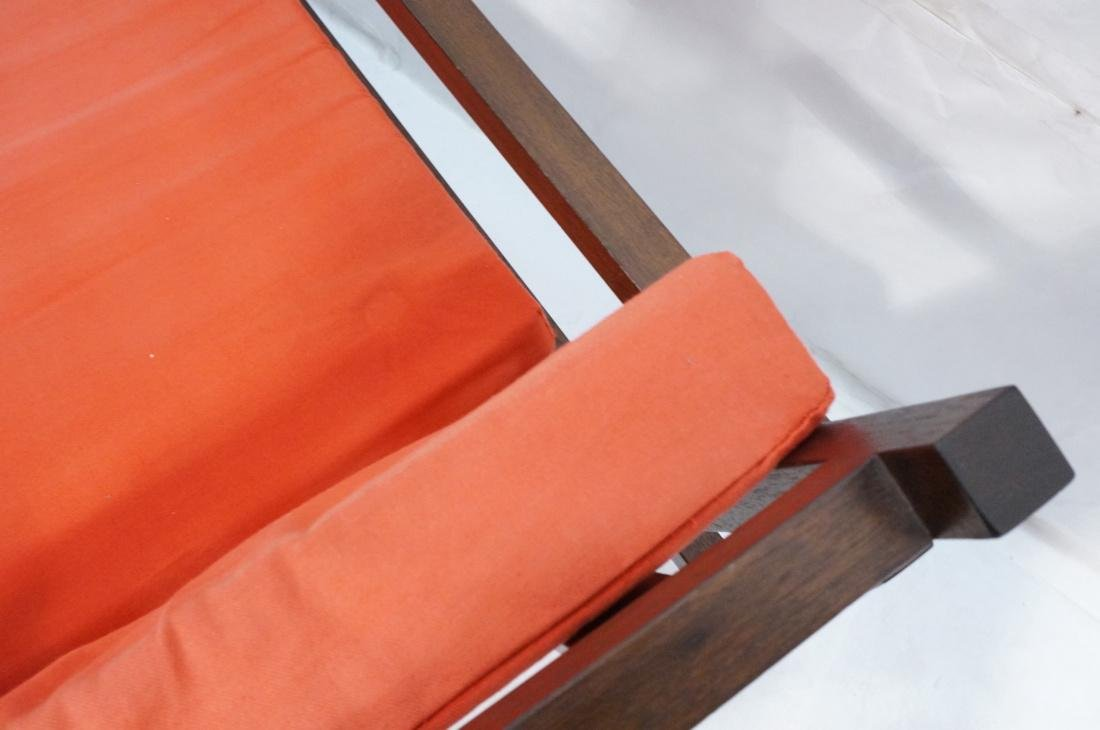 Gerrit Rietveld Style Lounge Chair.  Square dark - 7