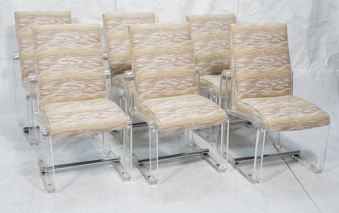 Set 6 Hollis Jones Style Dining Chairs with Lucit