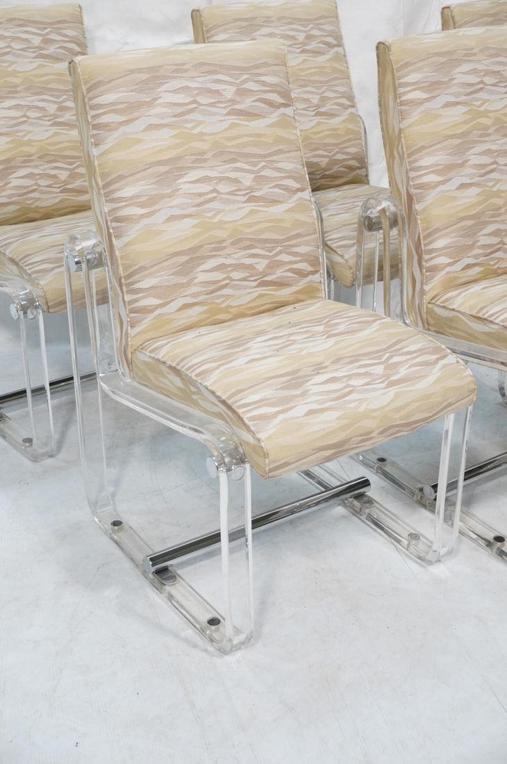 Set 6 Hollis Jones Style Dining Chairs with Lucit - 2