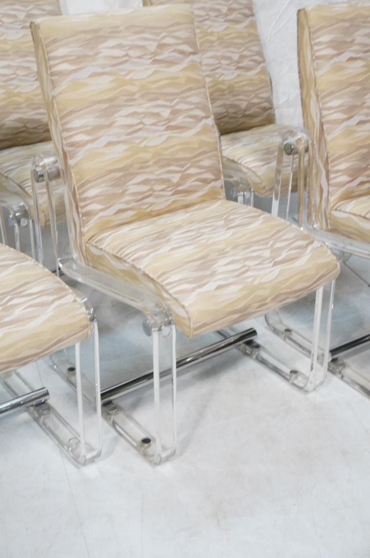 Set 6 Hollis Jones Style Dining Chairs with Lucit - 3