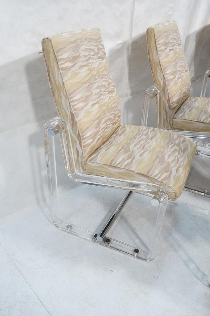 Set 6 Hollis Jones Style Dining Chairs with Lucit - 5