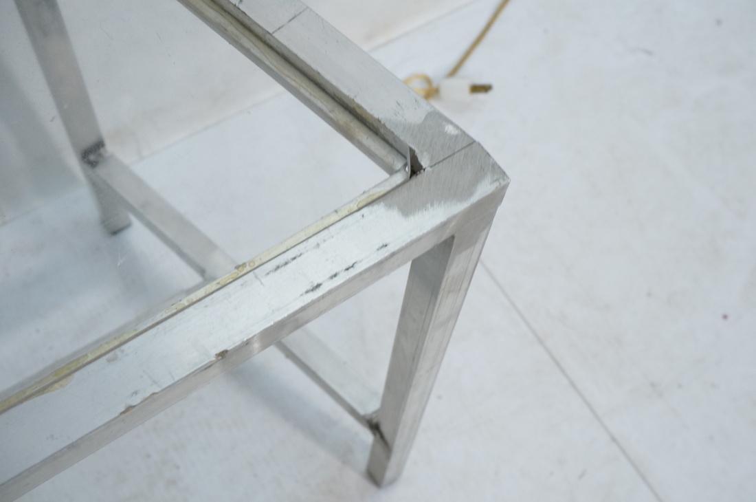 Set of 4 Aluminum Square Tube High Back Chairs. I - 7