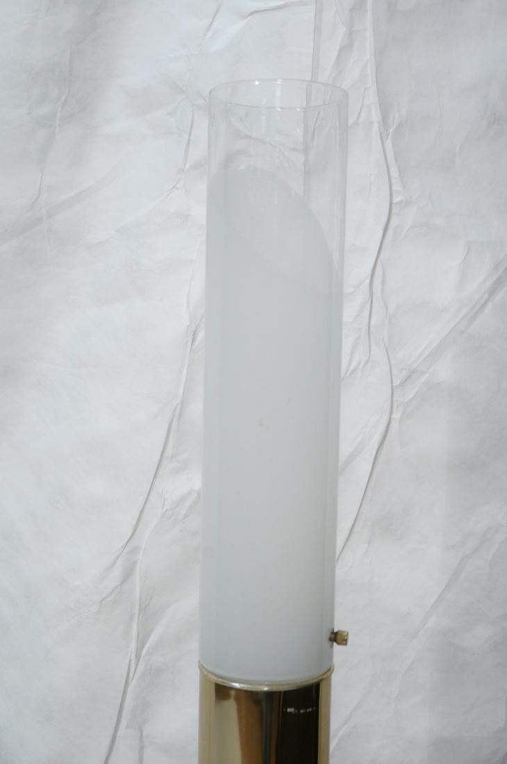 FLOS Style Handblown Italian Glass Floor Lamp. Br - 2