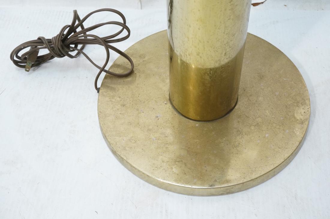 FLOS Style Handblown Italian Glass Floor Lamp. Br - 4