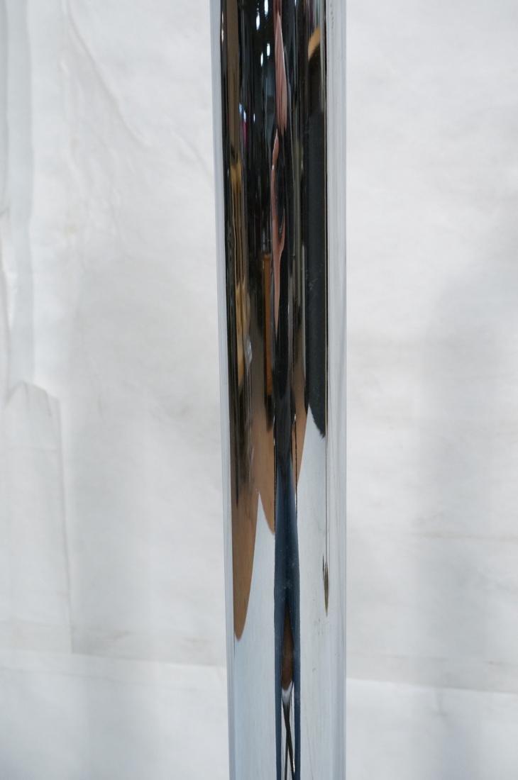 Modernist Chrome Tube Floor Lamp. Possibly Italia - 4