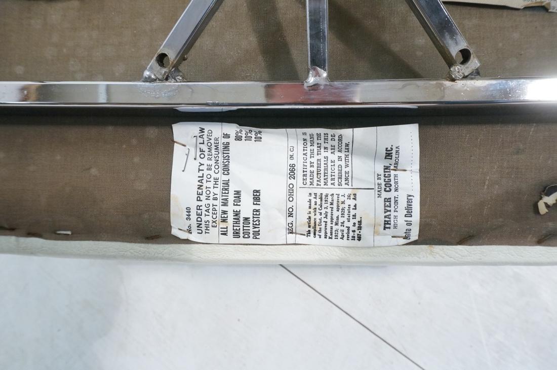 Pr MILO BAUGHMAN Thin Square Tube Side Chairs. Ba - 10