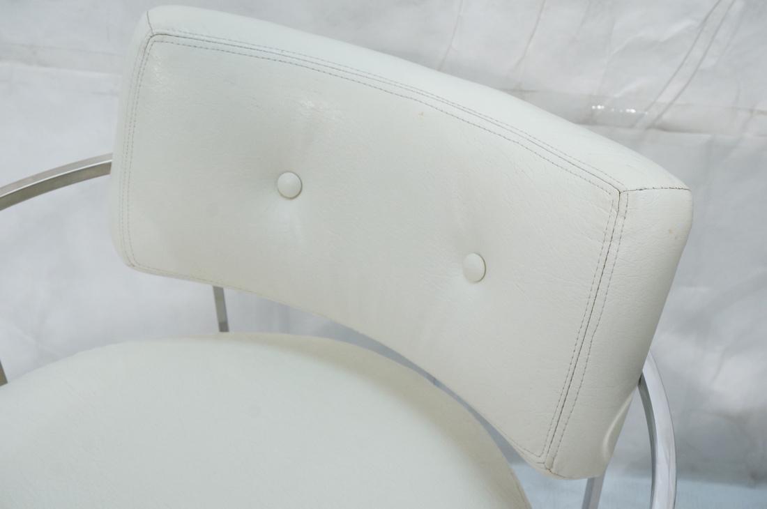 Pr MILO BAUGHMAN Thin Square Tube Side Chairs. Ba - 4
