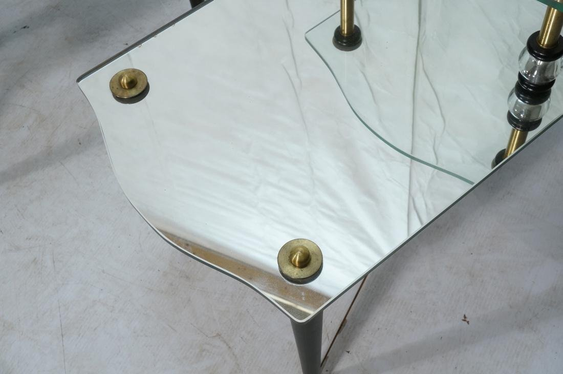 Pr Modern Wood Glass Mirrored Step Tables. Decora - 3