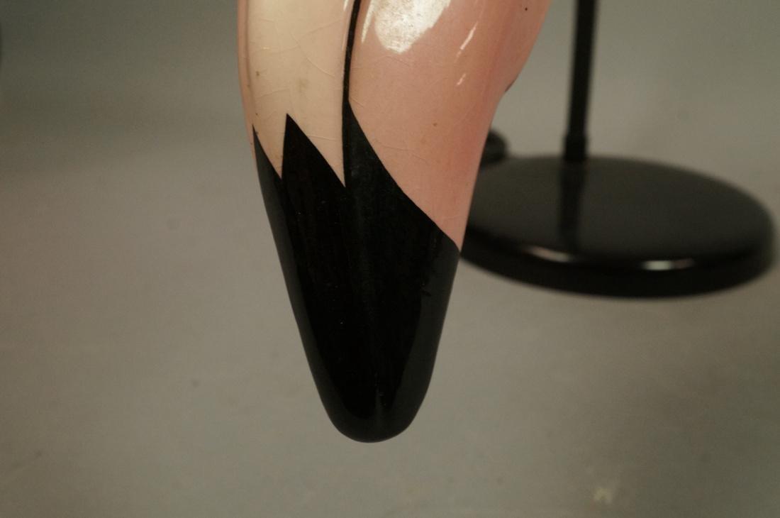 Ceramic Flamingo Head Modernist Gooseneck Lamp. B - 6