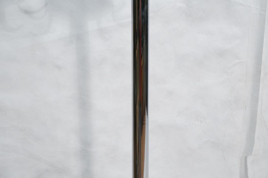 Industrial Art Deco Chrome Coat Hat Rack. Floor m - 3