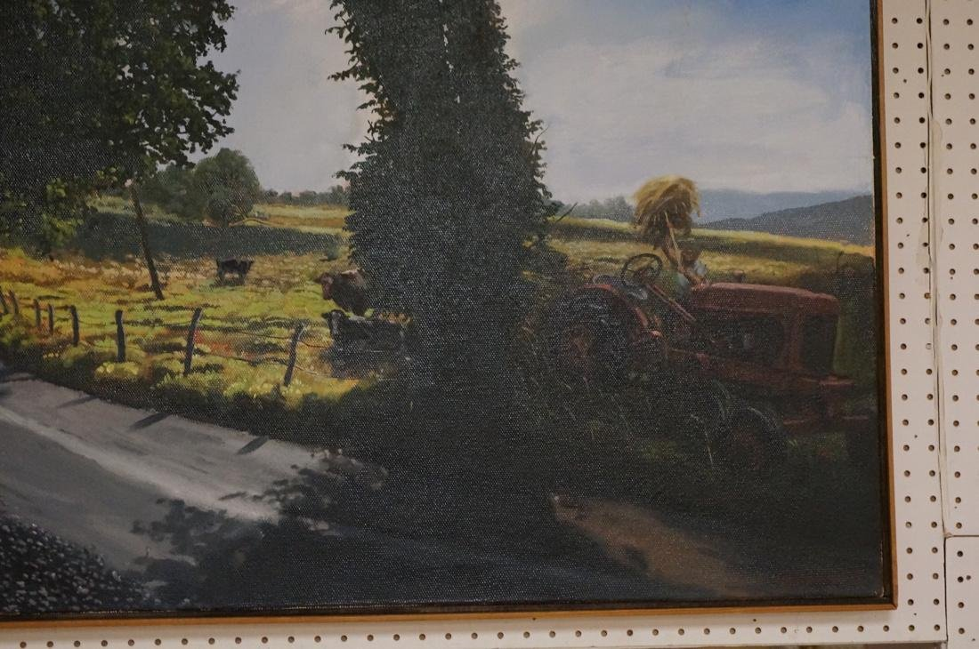 DEAN HARTUNG Late Afternoon Harvest Oil on Canvas - 4