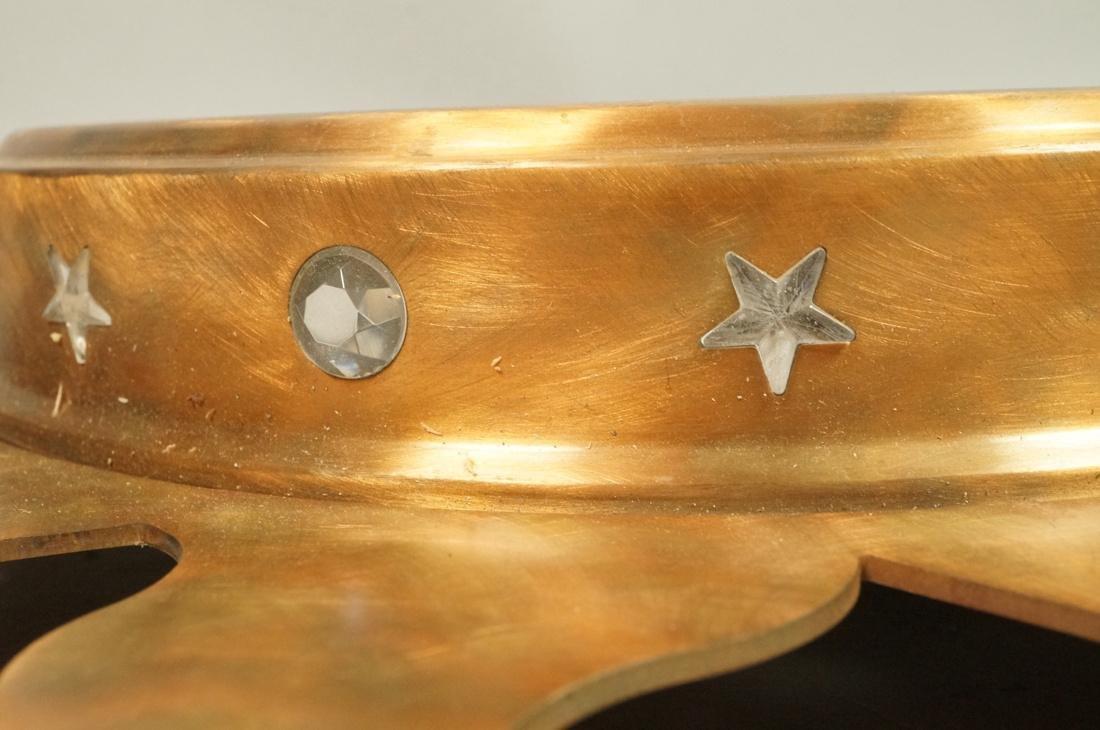 Pr NIERMANN WEEKS Bronze Copper Sunburst Wall Mir - 6