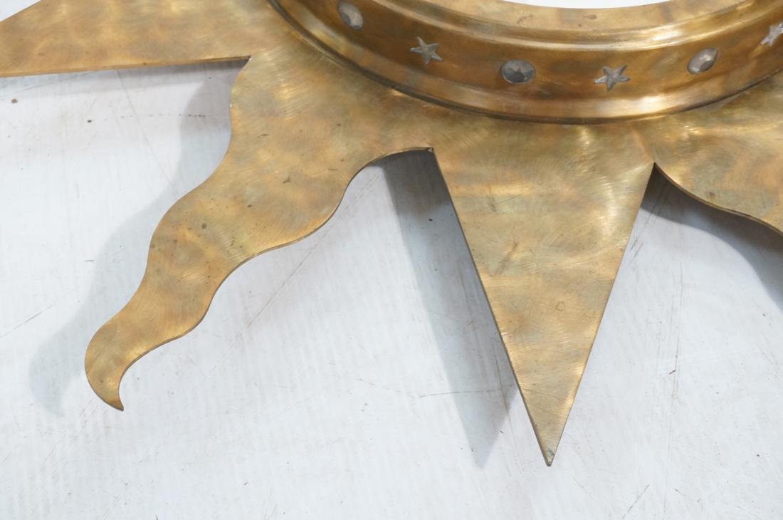 Pr NIERMANN WEEKS Bronze Copper Sun Wall Mirrors. - 4