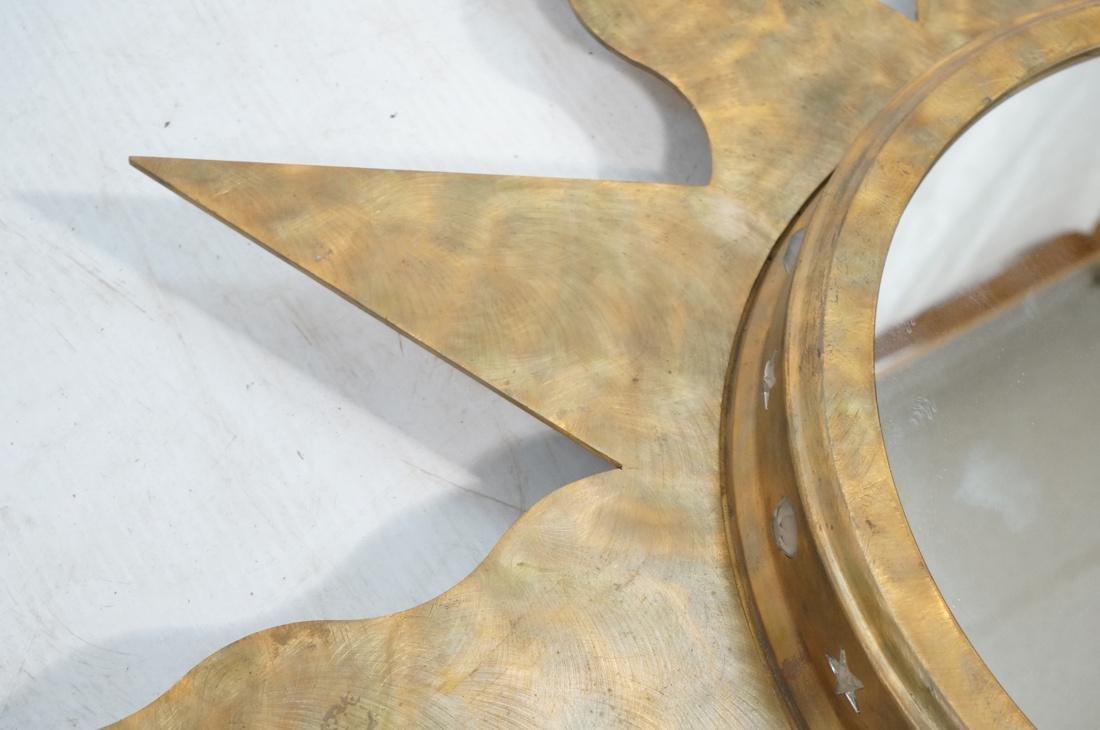 Pr NIERMANN WEEKS Bronze Copper Sun Wall Mirrors. - 5