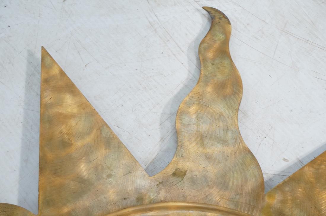 Pr NIERMANN WEEKS Bronze Copper Sun Wall Mirrors. - 6