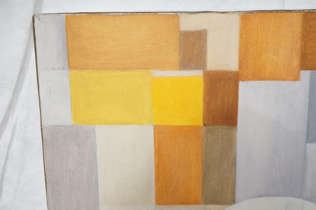 MAY BENDER Signed Oil Painting. Abstract Still Li - 3