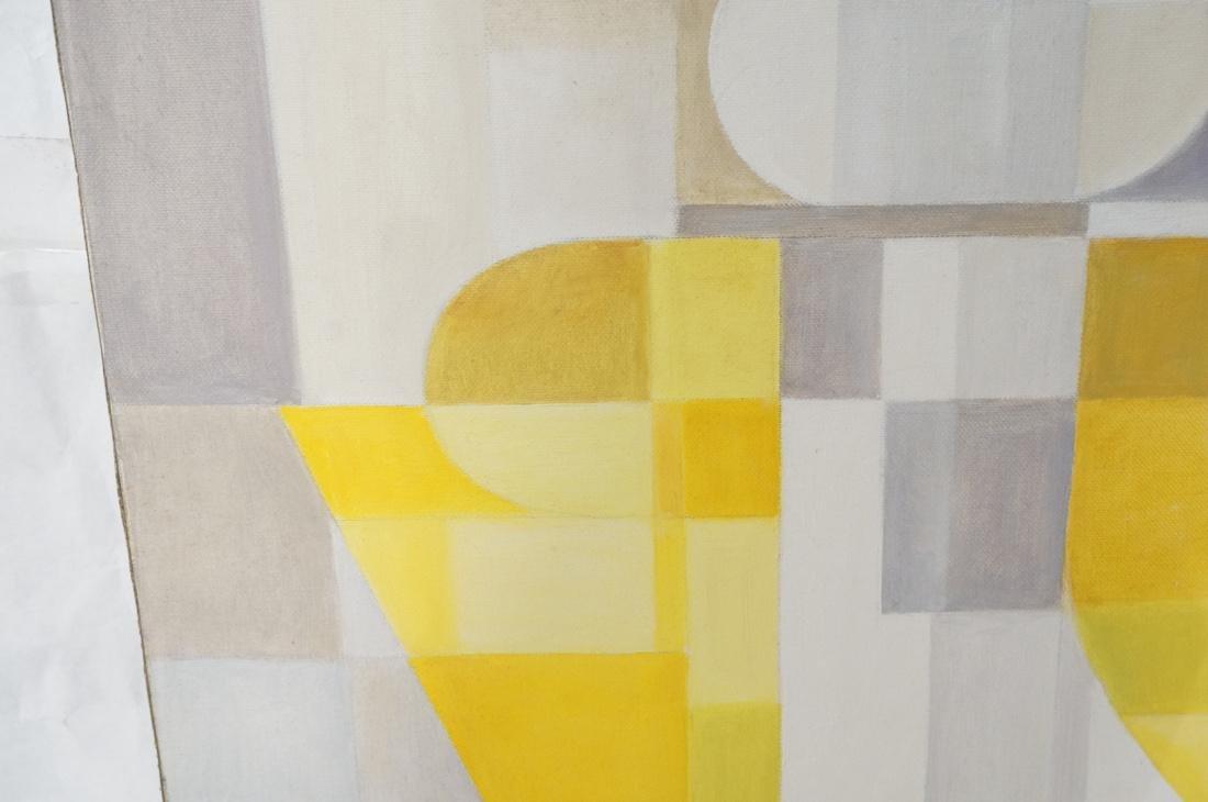 MAY BENDER Signed Oil Painting. Abstract Still Li - 4
