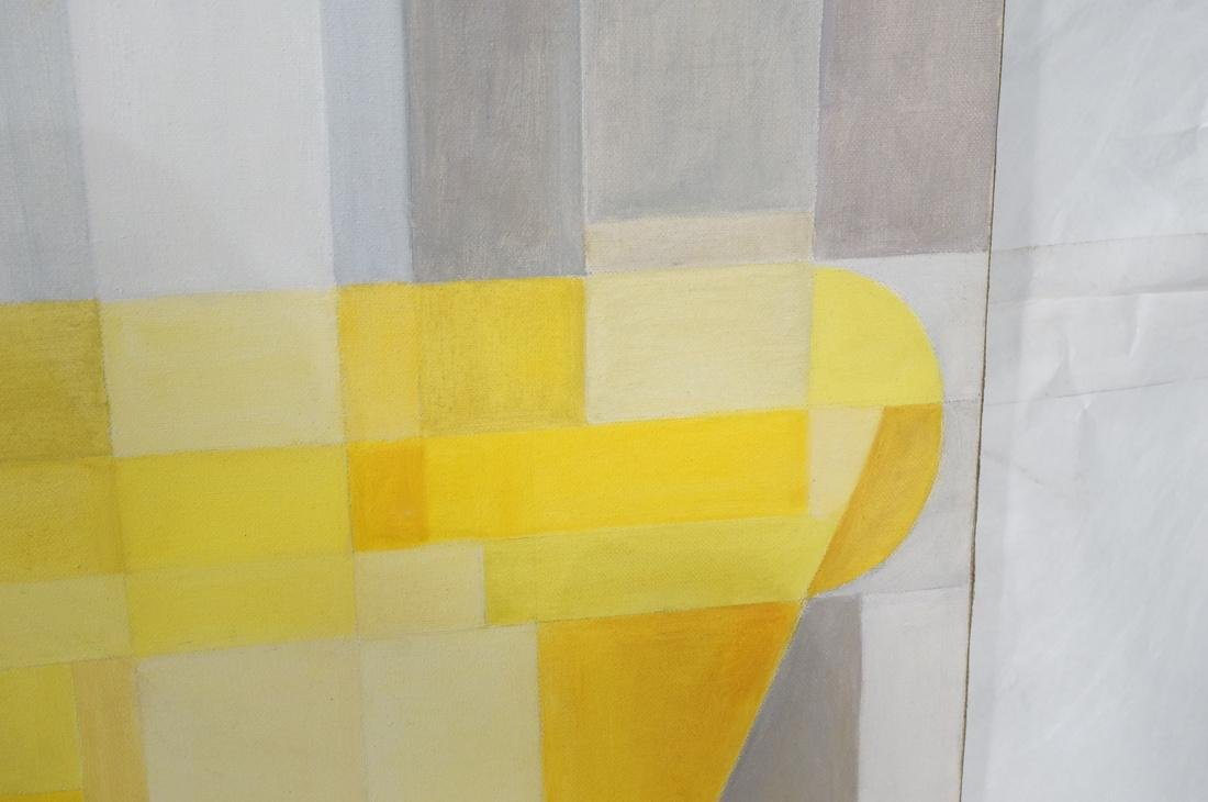 MAY BENDER Signed Oil Painting. Abstract Still Li - 6