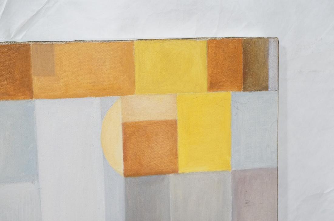 MAY BENDER Signed Oil Painting. Abstract Still Li - 7