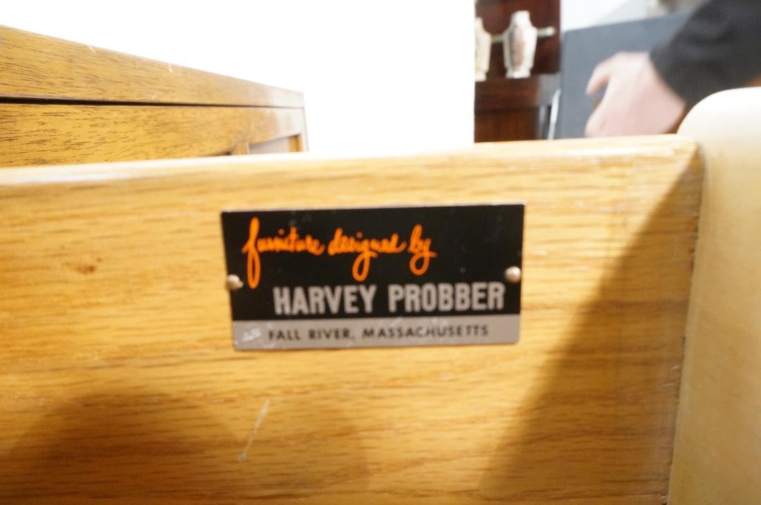 HARVEY PROBBER 2 Sliding Door Walnut Cabinet. Rai - 9