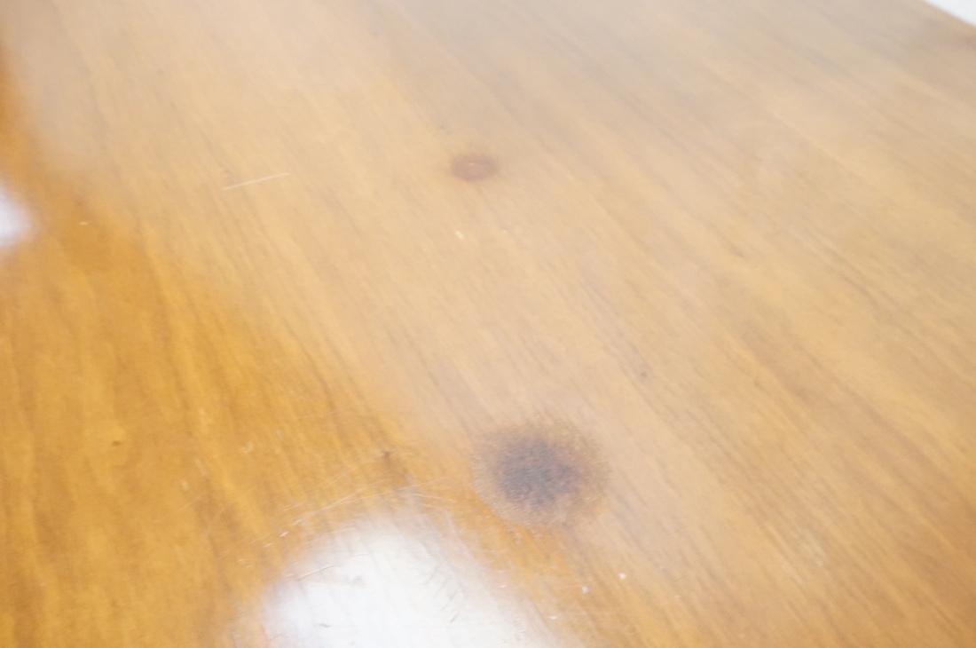 AMERICAN MODERN Walnut Credenza Sideboard. Unique - 4