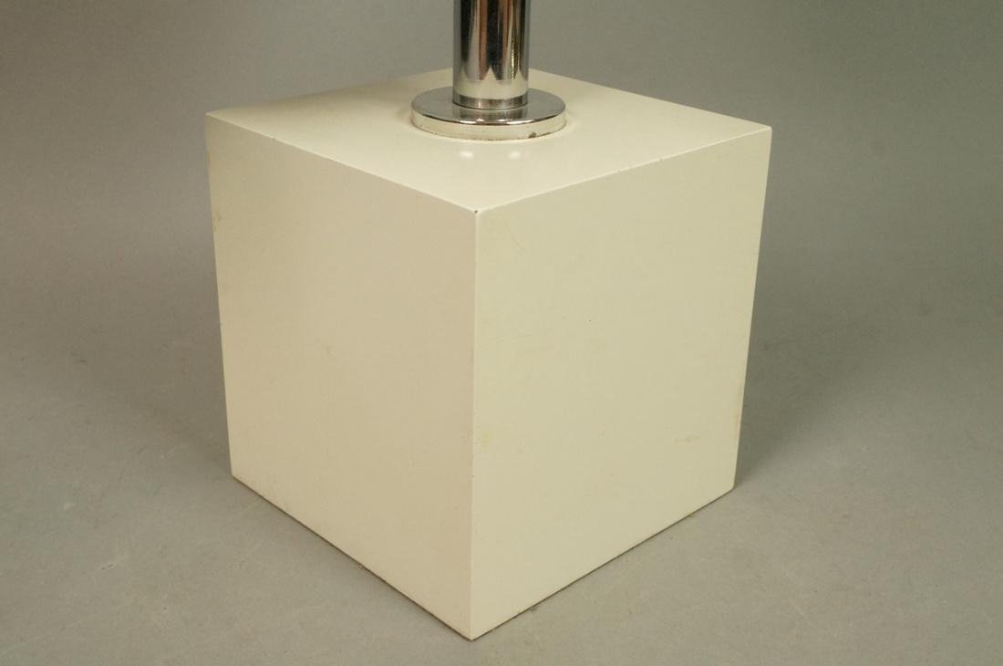 70's Modern Table Lamp. Five ball glass bulbs wit - 5