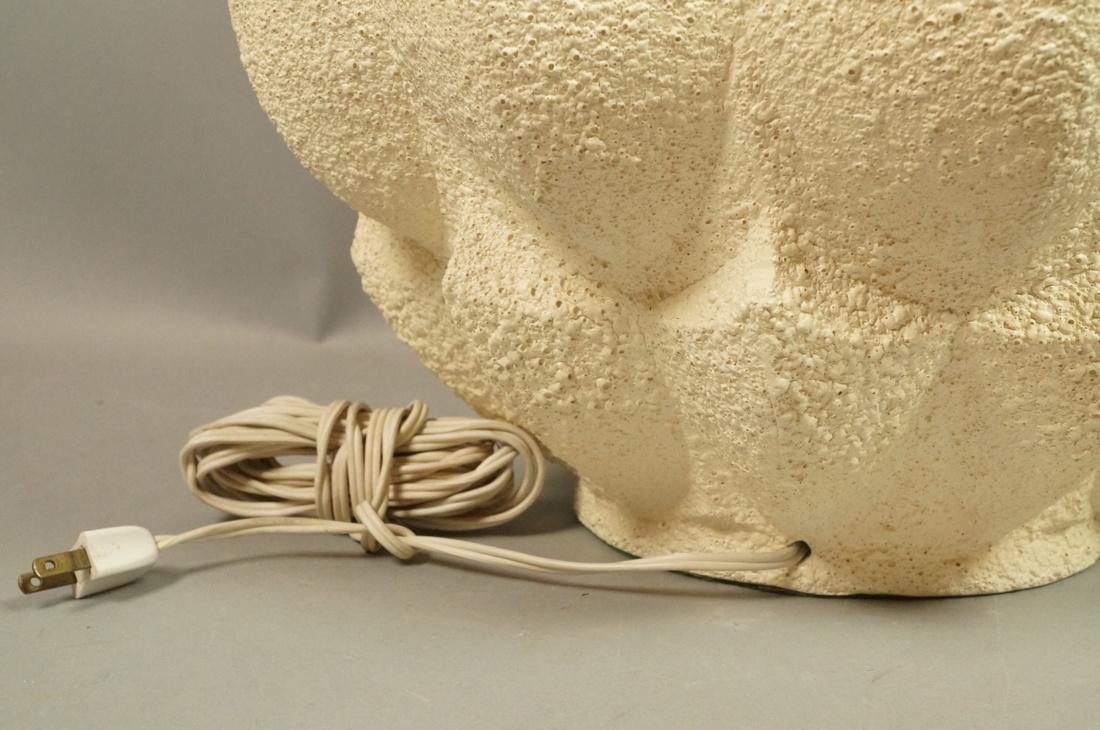 Modernist Large Artichoke Lamp. 3 dimensional tex - 6