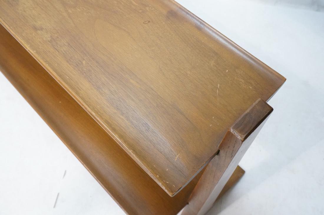 JOHN VAN KOERT for DREXEL PROFILE Two Shelf Bookc - 4