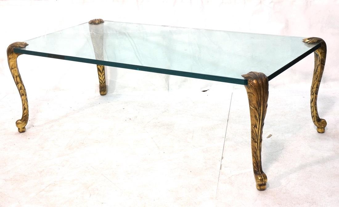 P.E. Guerin Style Decorator Gilt Metal and Glass