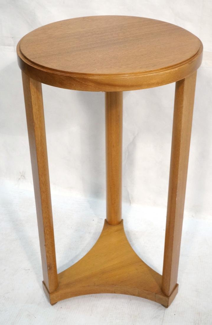 Modern Tripod Round Side Table.
