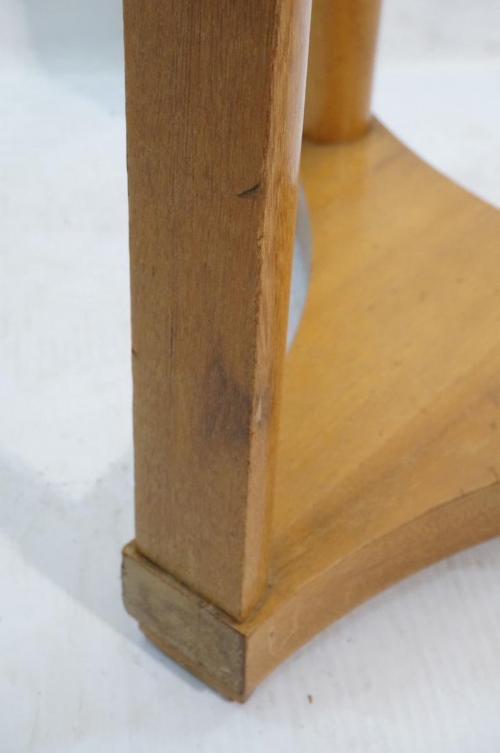 Modern Tripod Round Side Table. - 4