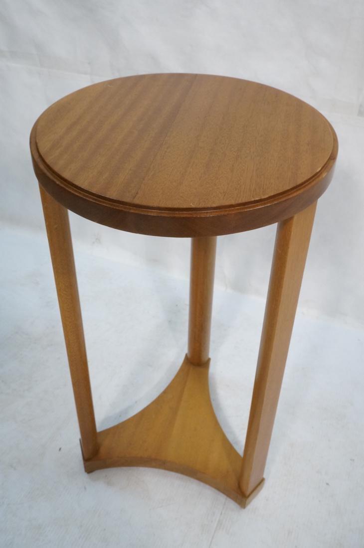 Modern Tripod Round Side Table. - 7