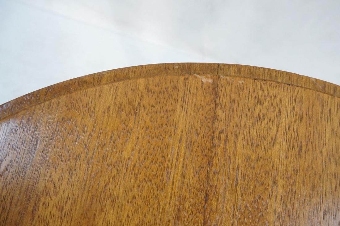 Modern Tripod Round Side Table. - 8