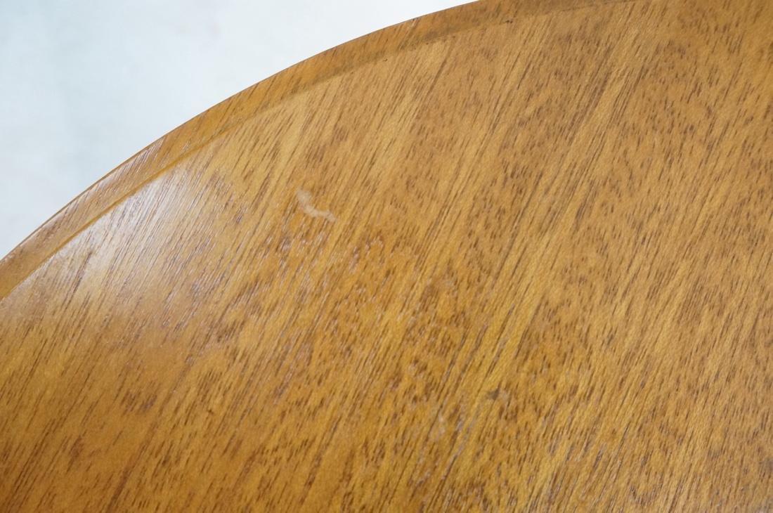 Modern Tripod Round Side Table. - 9