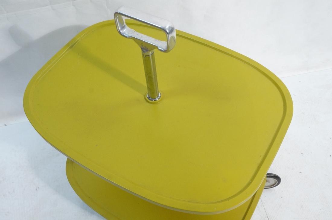 KARTELL Italian 2 Tier Rolling Cart. 2 green mold - 2