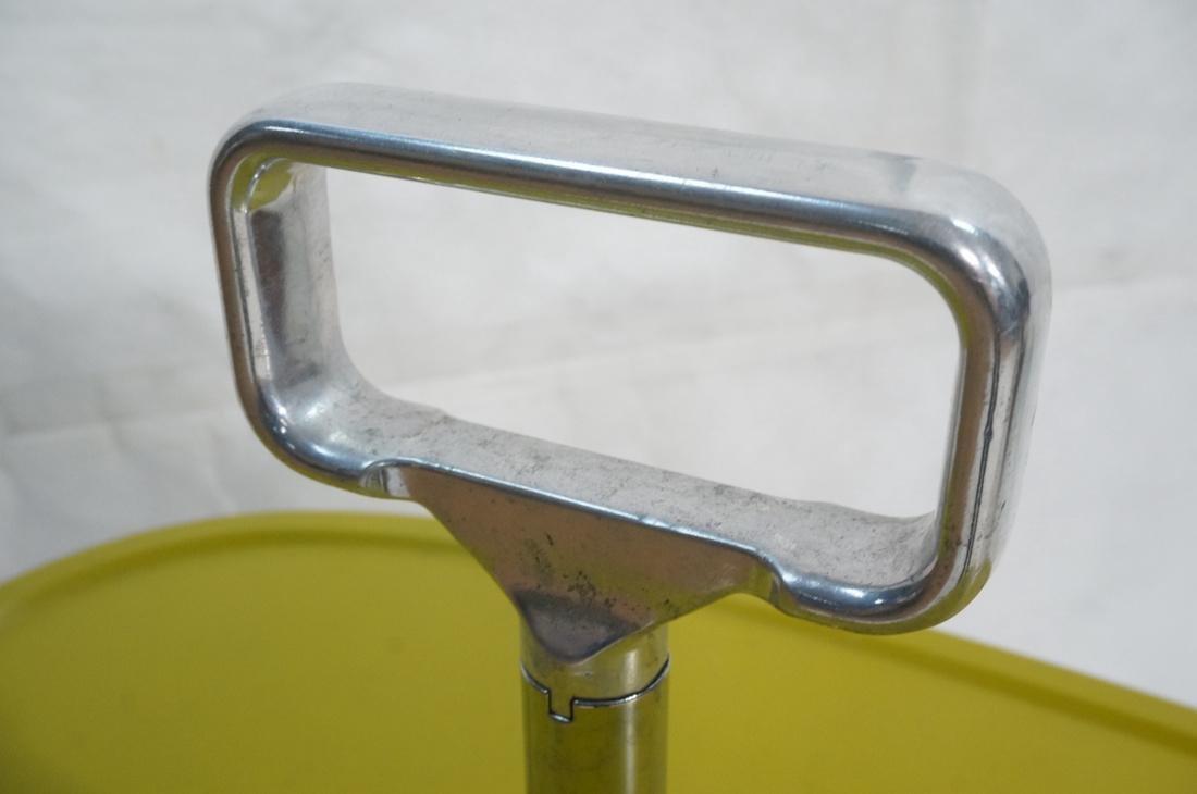 KARTELL Italian 2 Tier Rolling Cart. 2 green mold - 3